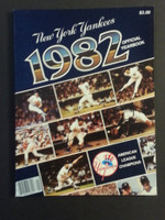 1982 Yankees Yearbook Near-Mint to Mint