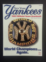 1997 Yankees Yearbook (Features 1996 World Championship team) Near-Mint to Mint
