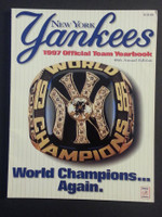 1997 Yankees Yearbook (Features 1996 World Championship team) Excellent to Mint