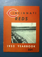 1952 Reds Yearbook (50 pg) Near-Mint