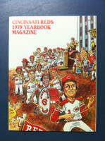 1979 Reds Yearbook (66 pg) Near-Mint to Mint
