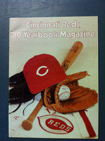 1980 Reds Yearbook (66 pg) Near-Mint