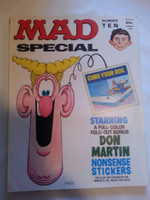 Mad Super Special #10 w/Nonsense Stickers Present (1973) Don Martin Cover Very Good