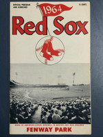 1964 Red Sox Program vs White Sox (24 pg) Unscored Near-Mint [Very clean]