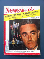 1961 Newsweek February 20 Abe Ribicoff - JFK's HUD Secretary Fair to Good heavy wear on cover, contents fine