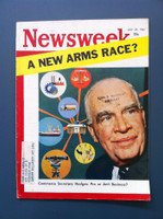 1961 Newsweek July 24 A New Arms Race? Very Good to Excellent
