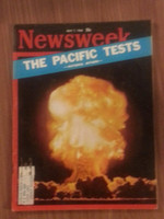 1962 Newsweek May 7 The Pacific Tests (Hydrogen Bomb) Very Good to Excellent