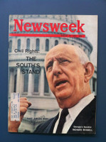 1963 Newsweek August 19 Civil Rights: The South's Stand Excellent