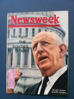 1963 Newsweek August 19 Civil Rights: The South's Stand Very Good to Excellent