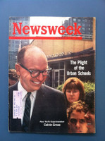 1963 Newsweek September 16 The Plight of Urban Schools Excellent