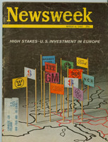 1965 Newsweek March 8 US Investment in Europe Good to Very Good
