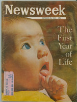 1965 Newsweek October 25 The First Year of Life Good to Very Good