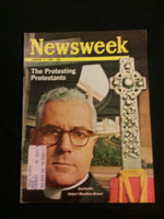1966 Newsweek January 3 Protesting Protestants Excellent