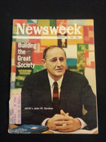 1966 Newsweek February 28 Building the Great Society Very Good