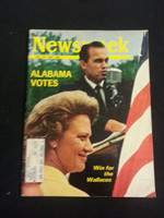 1966 Newsweek May 16 George Wallace Very Good to Excellent