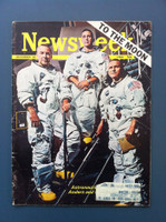 1968 Newsweek December 30 Astronauts Fair to Good