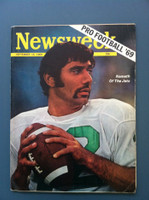 1969 Newsweek September 15 Joe Namath of the Jets Very Good