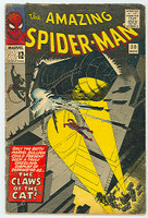 Spiderman #30 The Claws of the Cat Nov 65 Very Good