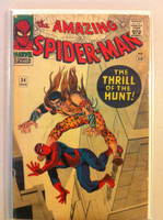 Spiderman #34 Kraven the Hunter Mar 66 Good to Very Good Wear on binding, edges; contents fine