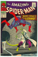 Spiderman #44 The Lizard Jan 67 Very Good to Fine