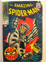 Spiderman #58 JJ Jameson Mar 68 Fair to Good Sl tear on corner, cover wear
