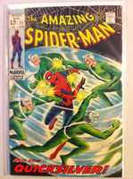 Spiderman #71 Quicksilver Apr 69 Very Good to Fine