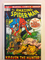 Spiderman #104 Kraven the Hunter Jan 72 Good Moisture; contents readable