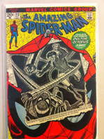 Spiderman #113 Doctor Octopus Oct 72 Very Good Lt cover wear, crease; contents fine
