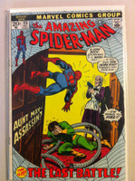 Spiderman #115 The Last Battle Dec 72 Very Good to Fine