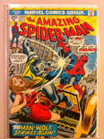 Spiderman #125 The Man-Wolf Oct 73 Very Fine