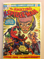 Spiderman #138 The Mindworm Nov 74 Good Coupon cut out of last page; ow VF