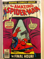 Spiderman #164 The Final Hour Jan 77 Very Fine