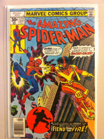 Spiderman #172 The Fiend from the Fire Sep 77 Near-Mint