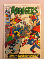 The Avengers #70 Squadron Sinister Nov 69 Very Good Lt wear on cover; contents fine
