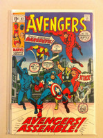 The Avengers #82 Avengers Assemble Nov 70 Very Good to Fine