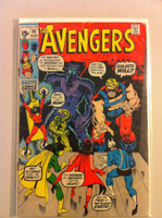 The Avengers #91 Goliath Aug 71 Fair to Good Heavy scuffing on cover, staple rust; contents fine
