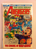 The Avengers #98 War-Hawk Apr 72 Very Good Lt wear on cover; contents fine