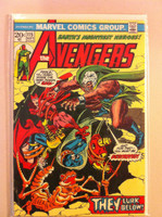 The Avengers #115 Skol Sep 73 Very Good Lt cover wear, creasing; contents fine