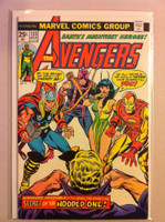 The Avengers #133 Secret of the Hooded One Mar 75 Good to Very Good Sl tear on cover; contents fine