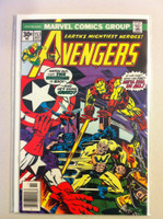 The Avengers #153 The Whizzer Nov 76 Very Good to Fine