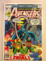 The Avengers #160 The Trial! Jun 77 Very Good to Fine