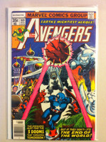 The Avengers #169 3 Dooms Mar 78 Fine