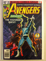 The Avengers #185 The Yesterday Quest Jul 79 Very Good to Fine