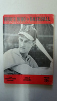1944 Who's Who in Baseball Stan Musial Good to Very Good [Cover creases, pencil WRT on cover; contents very clean]