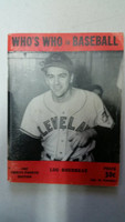 1949 Who's Who in Baseball Lou Boudreau Very Good [Very minor wear, crease on cover; contents very clean]