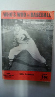 1950 Who's Who in Baseball Mel Parnell Good to Very Good [Wear, creases on cover; contents very clean]