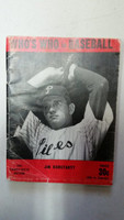 1951 Who's Who in Baseball Jim Konstanty Good [Heavy wear, creasing on cover; contents fine]