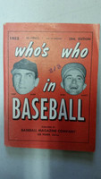 1953 Who's Who in Baseball Hank Sauer, Bobby Shantz Excellent [Very minor wear, ink stamp on cover; contents very clean]