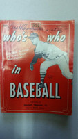 1958 Who's Who in Baseball Warren Spahn (Back Cover: Ted Williams photo) Very Good to Excellent [Wear on cover, sl tear; name and date WRT; contents fine]