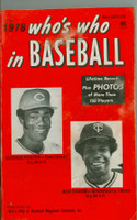 1978 Who's Who in Baseball Rod Carew, George Foster Very Good to Excellent [Lt smudge and wear on covers, contents great]